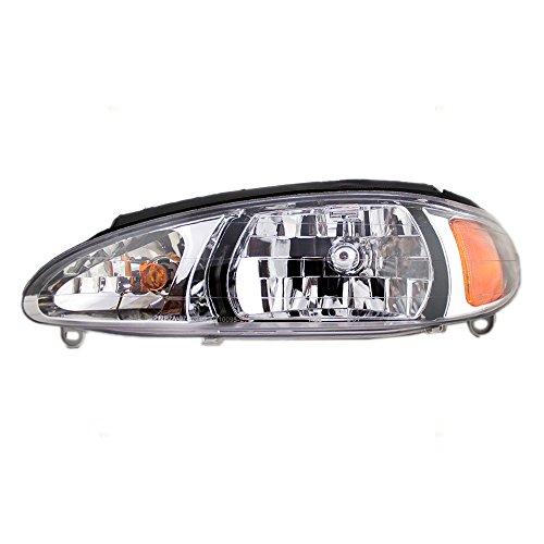 Drivers Headlight Headlamp Replacement for Ford Mercury XS4Z 13008 BA AutoAndArt