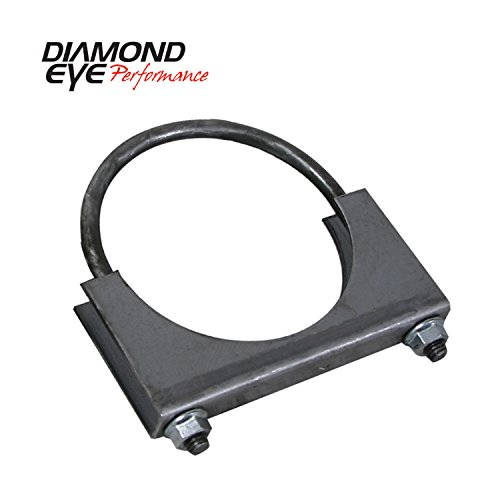 Diamond Eye Performance U-BOLT CLAMP - STANDARD STEEL 5
