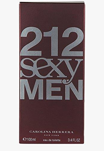 212 SEXY FOR MEN 3.4 oz / 100 ml EDT SPRAY