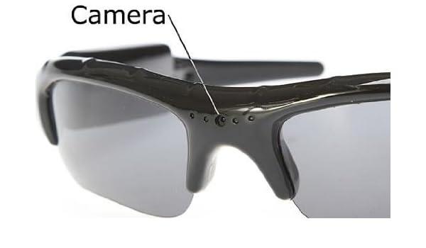 iClever Esky - Cámara espía de monitoreo gafas de sol Spycam oculto grabación en tarjeta SD 16 G (no incluida): Amazon.es: Informática