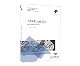 Book Zoll & Export 2018