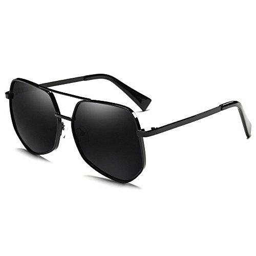 Lunettes Fashion de Métal Carrés Hommes Yxsd Extérieur SunglassesMAN Femmes Shades Black Soleil Lunettes Black Couleur Classique CXwvqqg