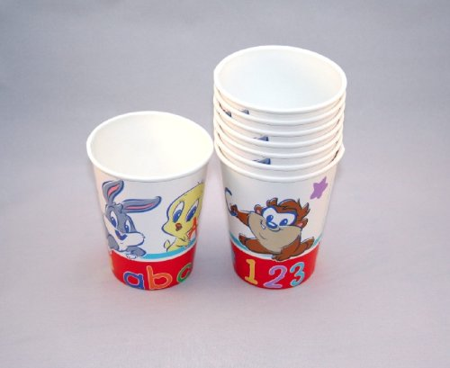 Hallmark Looney Tunes (Baby Looney Tunes 9oz Paper Party Cups (8 Count) by Hallmark)