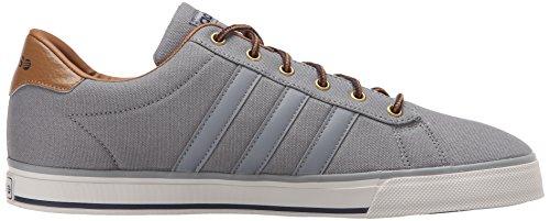 Adidas Heren Dagelijkse Grijs / Grijs / Hout Sneaker 8 D - Medium