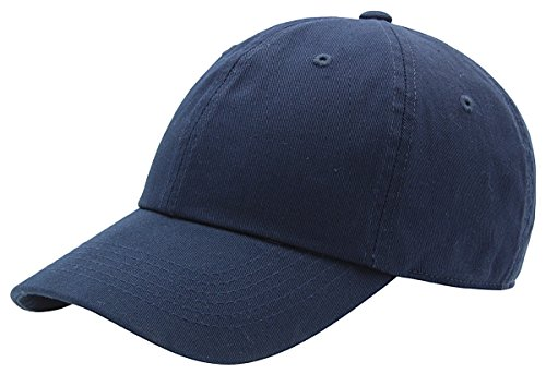 - AZTRONA Baseball Cap for Men Women - 100% Cotton Classic Dad Hat, NAV