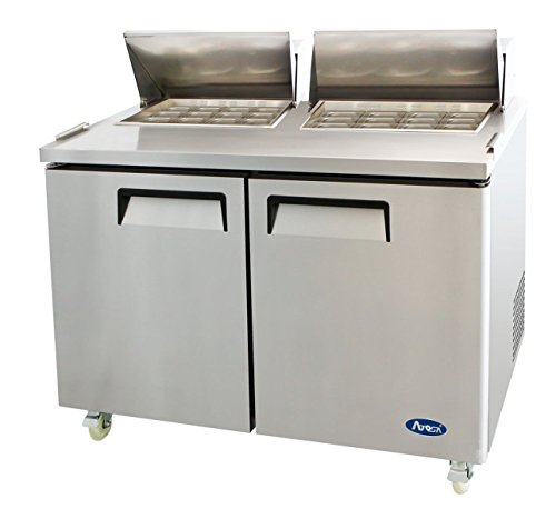 Atosa MSF8307 Stainless Steel Mega Top Sandwich Prep Table 60