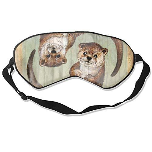 Sleep Mask, Blindfold Super Smooth Eye Mask Cute Ferret Eye Cover for Women Men