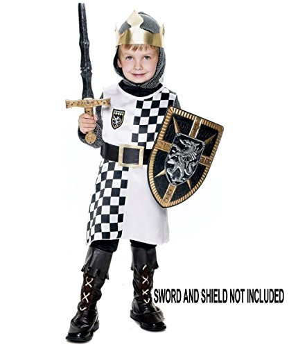 Army Halloween Costume Makeup (Paper Magic Group Medieval Hero-1 Boy's Costume, 2T)