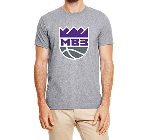 Fox Leg Peg (Peg Leg Shirts Gray Sacramento Bagley III Logo T-Shirt Youth Large)