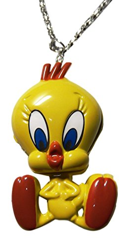 Tweety Bird Child Costumes (Looney Tunes Tweety Bird YELLOW Pocket/Pendant Watch)