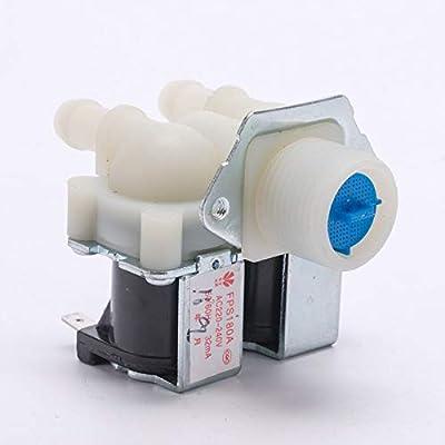 Fincos FPS180A AC220V - Válvula de agua de doble entrada para ...