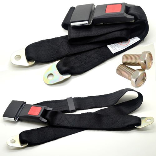 new-adjustable-car-auto-seat-belt-lap-belt-universal-two-point-safety-polyester-fibre