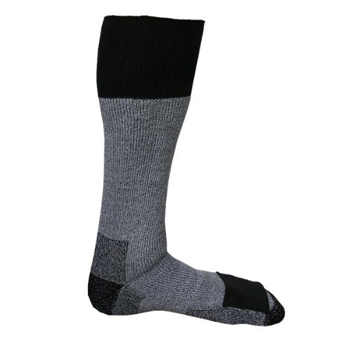Heat Factory Merino Wool Socks with Toe Heat Warmer Pockets,