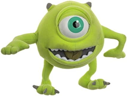 Amazon Com Disney Monsters Inc One Eyed Mike Talking Doll Toys Games