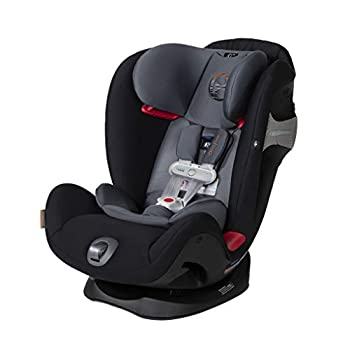 Image of Baby Cybex Eternis S All-in-One Car Seat with SensorSafe, Standard, Pepper Black