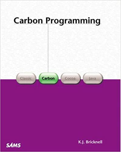 Carbon Programming 1st edition by Bricknell, Kevin (2001)