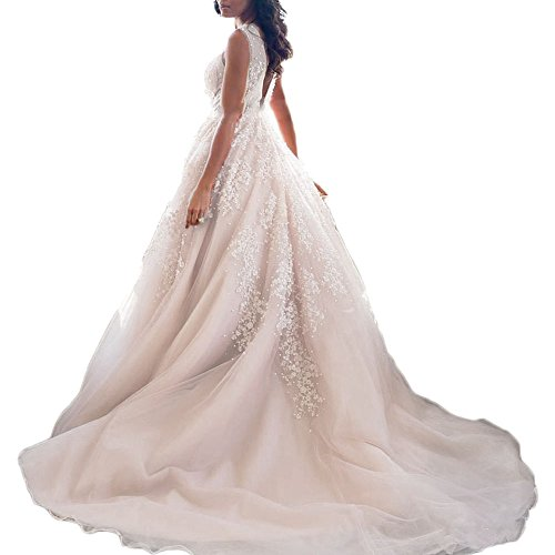 Low Waist Wedding Gowns: Liliesdresses Women's So Sexy Double V Beaded Prom Dress