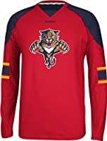 NHL Carolina Panthers Men's Edge Long Sleeve Jersey Tee