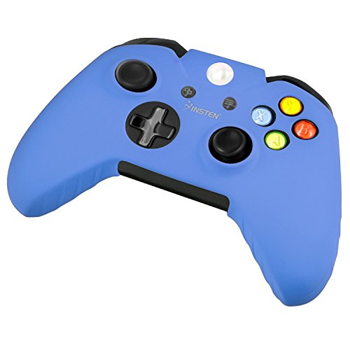 Cheap Xbox One/ Xbox One S Controller Silicone Skin Case, Insten Soft Silicone Protective Skin Case Cover for Microsoft Xbox One/Xbox One S / Xbox One X Controller, Blue