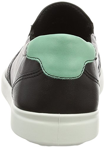 EccoECCO AIMEE - Mocasines Mujer Negro (BLACK/GRANITE GREEN59526)