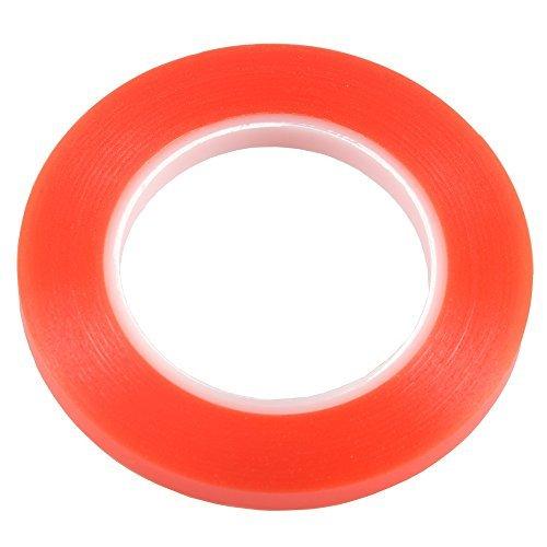 Rollo de cinta adhesiva de doble cara para iPhone, iPad, HTC, 3528, 5050, Ws2811, 25 m, 10 mm