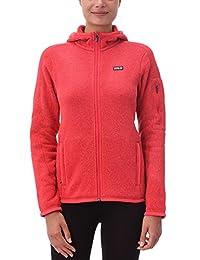 Patagonia Better Sweater Full-Zip Hoody Women's (XL, TOMATO)