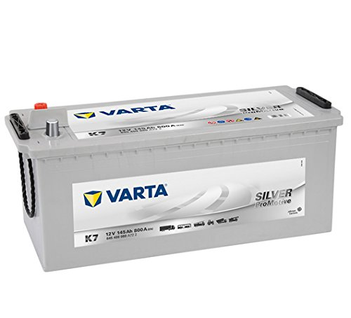 K7 VARTA PROMOTIVE SILVER 145Ah 800A EN
