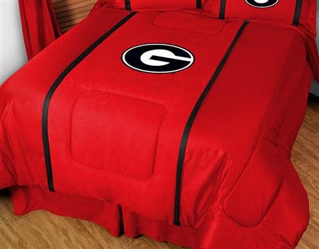 - NCAA Georgia Bulldogs MVP Comforter Twin