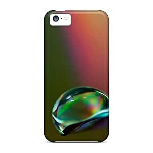Hot Covers Cases For Iphone/ 5c Cases Covers Skin - Drops Macro 3