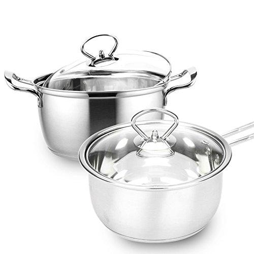 4 1 2 quart stock pot - 4