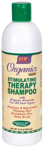 Stimulating Shampoo Therapy (Africa's Best Organics Stimulating Therapy Shampoo)
