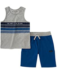 Boys' 2 Pieces Tank Top Shorts Set