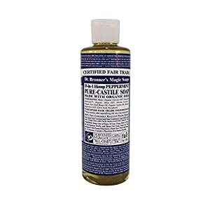 Dr Bronners Pure Castile Soap Peppermint (237ml 10...