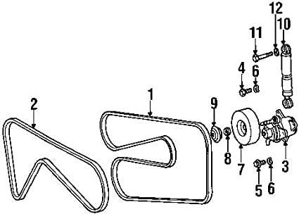 C230 Belt Diagram