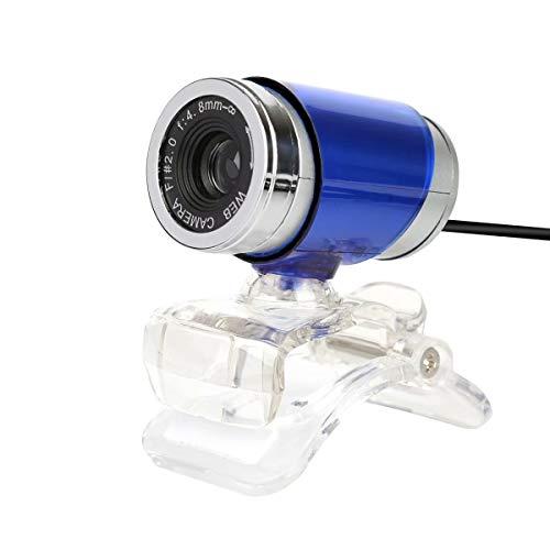 YoLuke A860-Blue HD USB 2.0 Digital Video Webcamera for Computer PC Laptop, Blue
