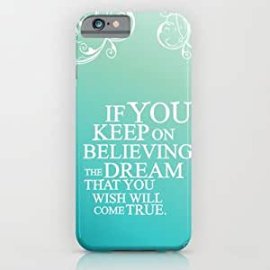 Society6 - Believing.. Cinderella Quote iPhone 6 Case by Studiomarshallarts