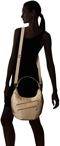Champagne with Convertible Hobo Protection RFID Travelon vxO7Cwqv