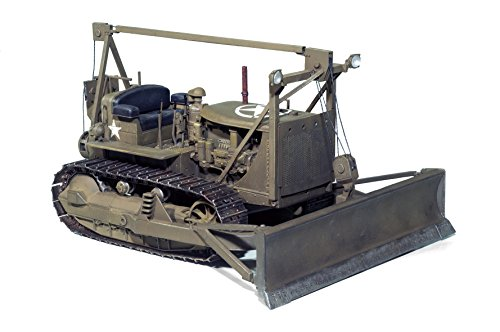 MiniArt Models 1/35 U.S. Army Tractor with Angled Dozer Blad