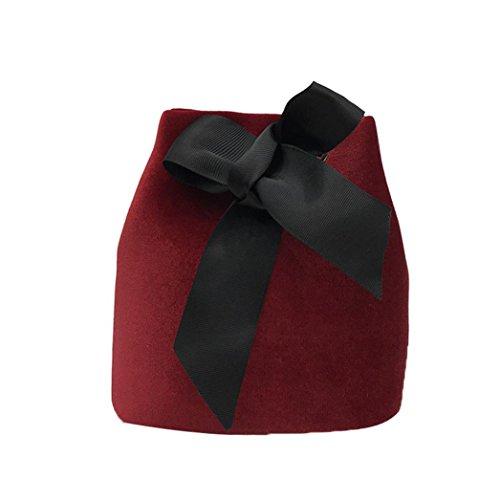 ESAILQ Bolso de Hombro Bolsa De Mochila Multiusos Compras Para Movil Mujer Niñas R Rojo