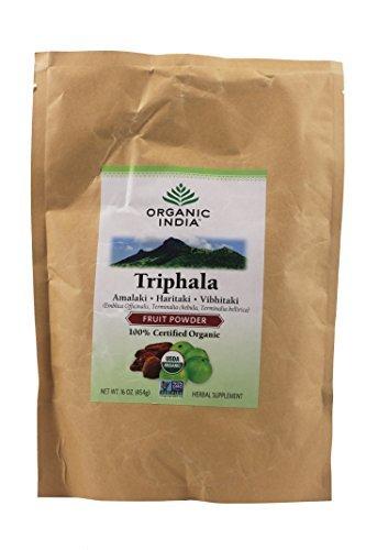 2 best organic india triphala powder, 1 pound