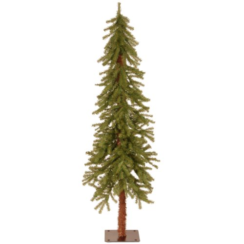 National Tree 5 Foot Hickory Cedar Tree (CED7-50-S) (7-5 Ft Pre Lit Artificial Christmas Trees)