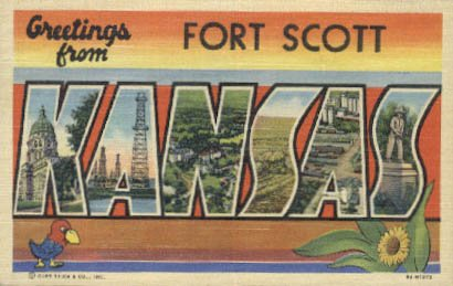 Postcard (Kansas Ks Postcard)
