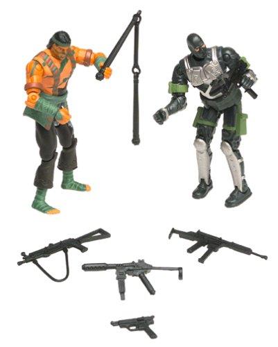 G.I. Joe vs. Cobra Nunchuk vs. Firefly Action Figure Set [Toy] (Quick Joe Gi Kick)
