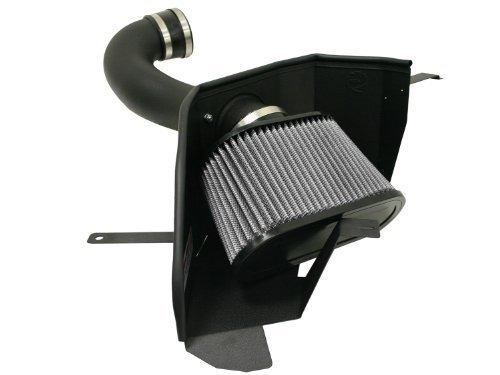 aFe Stage 2 Cold Air Intake Pro-Dry S w/o Cover Ford Mustang GT 4.6L V8 05-09