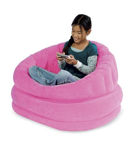 (Plush Inflatable Cafe Chair (Magenta))