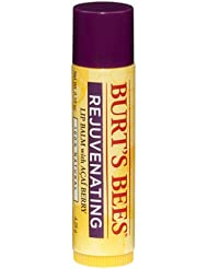 Burt's Bees Rejuvenating Lip Balm小蜜蜂巴西紫莓果抗氧润唇膏12支SS$22.76