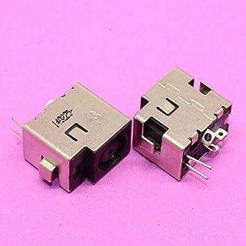 Connectors New 7.4//5.0MM Laptop DC Jack for HP Premium HDX X18-1200 Series HDX X18-1200EO Cable Length: 0.2m