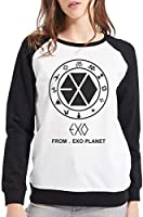 Moletom Raglan Feminino Kpop Exo From Exo Planet ES_102