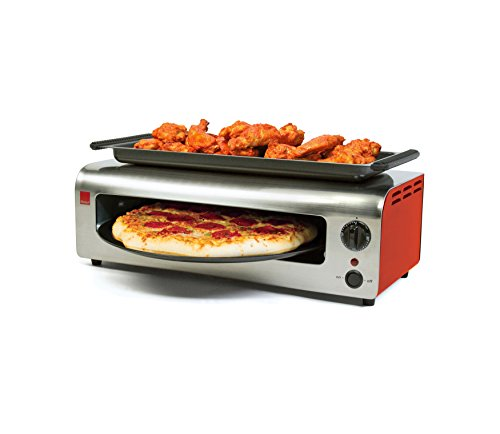 Ronco Pizza & More, Red/Stainless ()