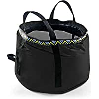 GKSELLING 12L Portable Folding Wash Basin, Lightweight and Durable Compact Collapsible Foldable Water Bucket Container…